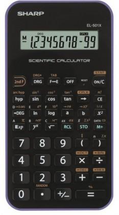 Kalkulačka SHARP EL501XVL - purple - CALC