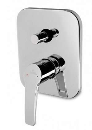 Kamela - Sprchová batérie podomietková s prepínačom (chrom)