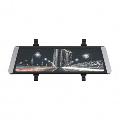 Kamera do auta Autokamera Cel-Tec M10 GPS Premium, zrkadielko + zadná kamera