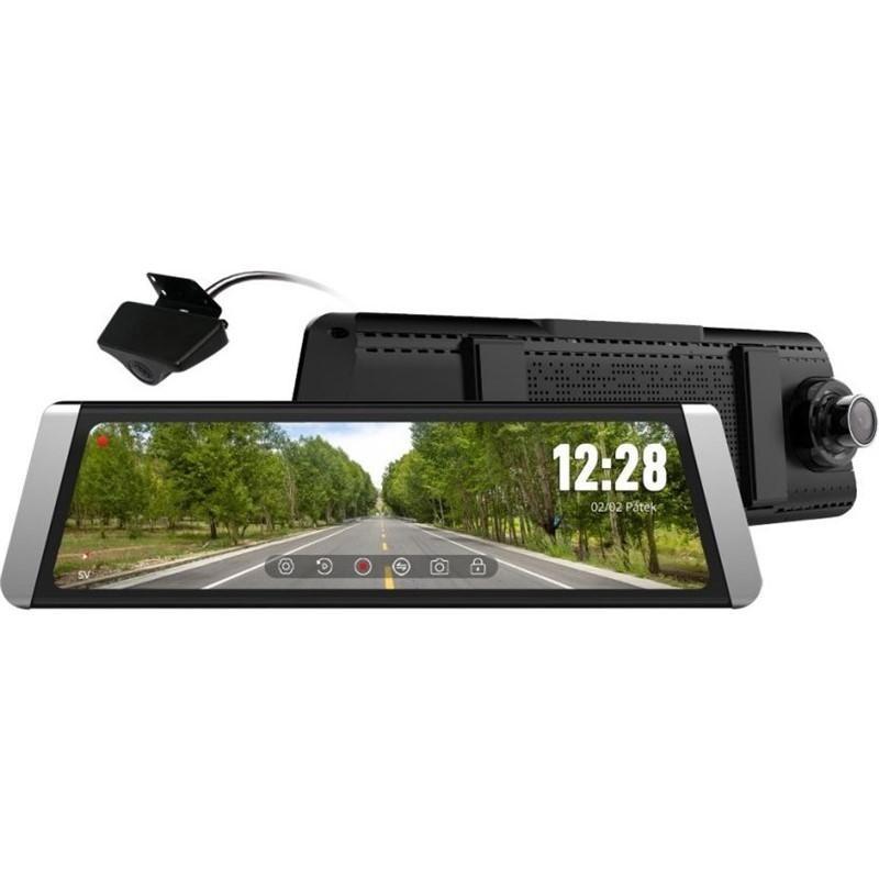 Kamera do auta Autokamera CEL-TEC M10S GPS, FullHD, 140°