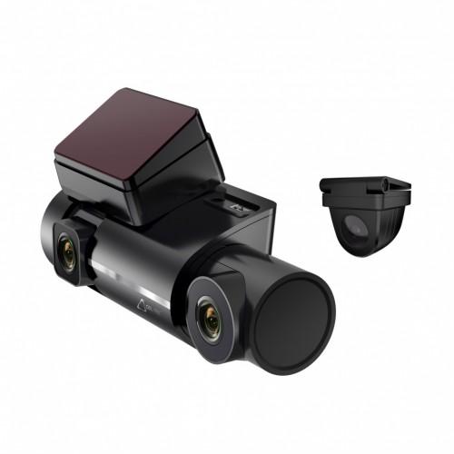 Kamera do auta CEL-TEC K5 Triple FullHD, 3 kamery, WiFi, 140°