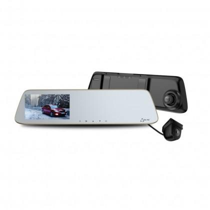 """Kamera do auta Duálna Autokamera Cel-tec M6s, FullHD, LDWS, 5"""" dotykové zrkadlo"""