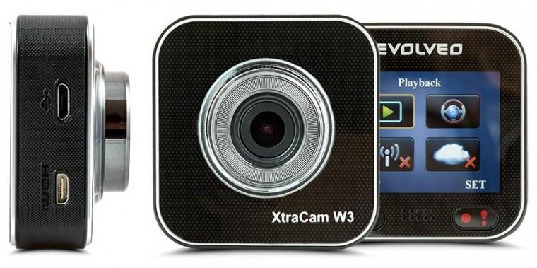 Kamera do auta EVOLVEO XtraCam W3, 1080p, WiFi, 160°, G senzor