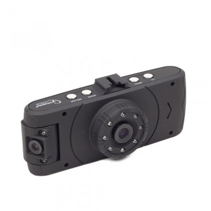 Kamera do auta GEMBIRD Kam. do auta HD 2,7'' duální, Nightvision
