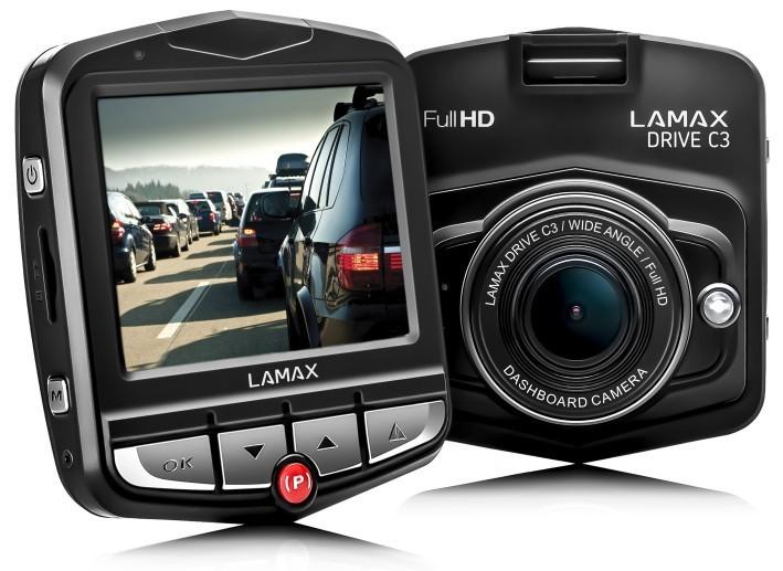 Kamera do auta LAmax DRIVE C3 - kamera do auta POUŽITÝ NEOPOTREBOVANÝ TOVAR