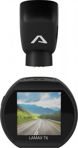 Kamera do auta Lamax T6, FullHD, GPS, Wi-Fi, záber 140°, magnet