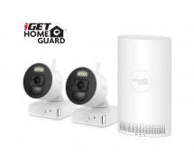 Kamerový systém iGET HOMEGUARD HGNVK88002P, na batérie, 2 kamery