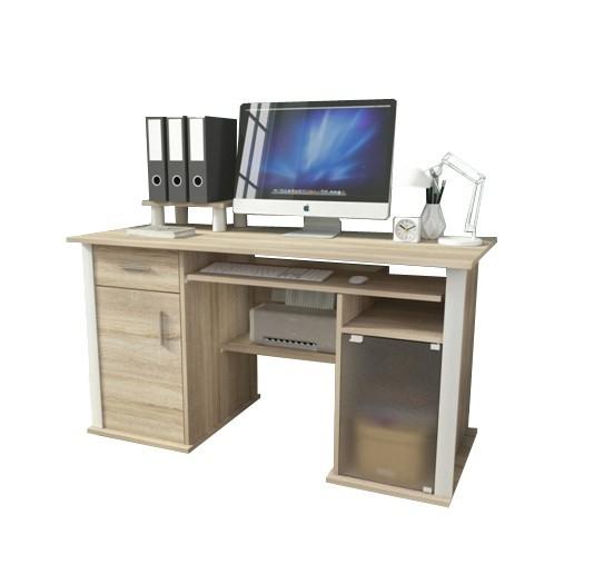 Kancelárie ZLACNENÉ Kancelársky stôl Spectrum (dub sonoma)