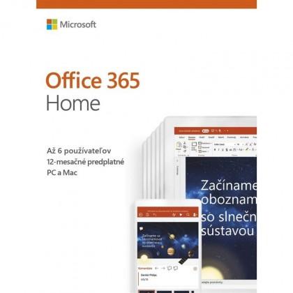 Kancelárska aplikácia Office 365 Home SK (6GQ-01048)