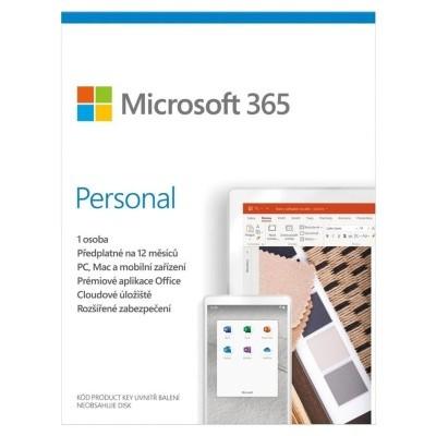 Kancelárská aplikácie Microsoft 365 Personal P6 Mac/Win, 1rok, CZ akce