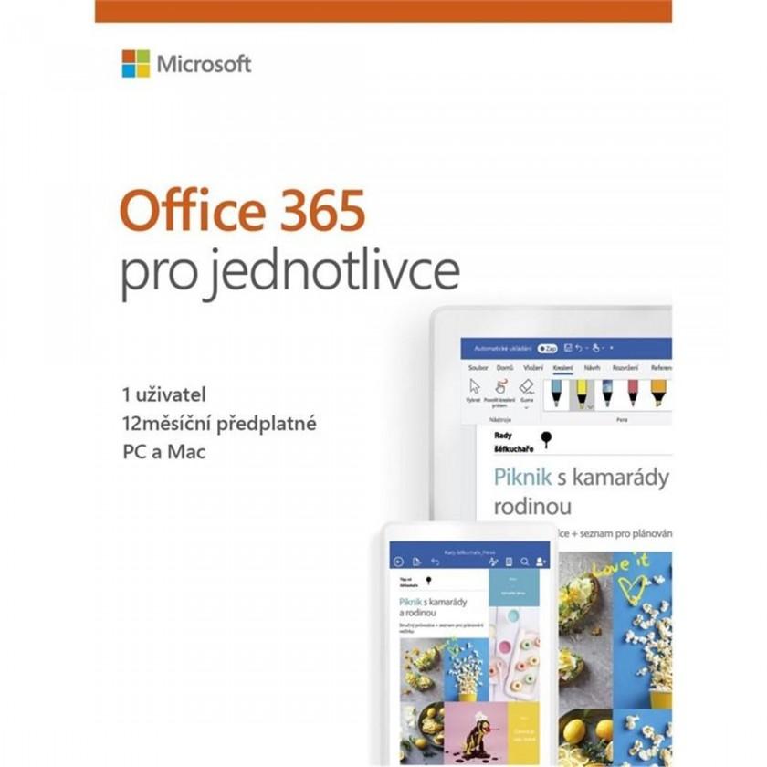 Kancelárská aplikácie Office 365 Personal 32-bit/x64 CZ P4