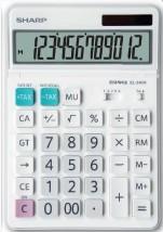 Kancelárska kalkulačka Sharp EL340W, solárne napájanie