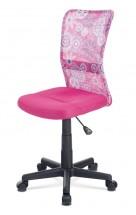 Kancelárska stolička Alice ružová