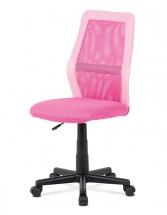Kancelárska stolička Andrea ružová