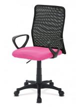Kancelárska stolička Beata ružová