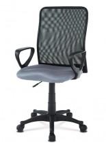 Kancelárska stolička Beata sivá