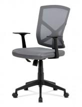 Kancelárska stolička Clara sivá
