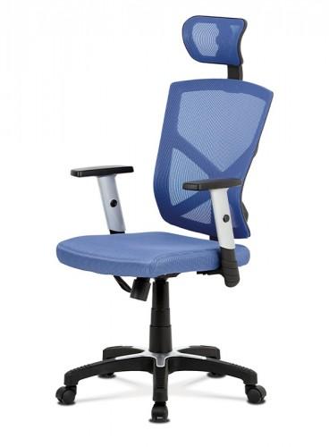 Kancelárska stolička Dalila modrá