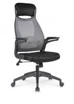 Kancelárska stolička Regina, čierna, sivá