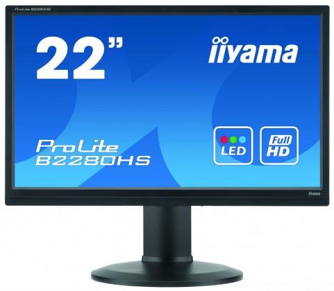 """Kancelárske 22""""LCD iiyama B2280HSB1"""
