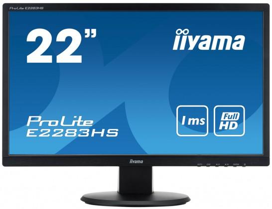 """Kancelárske 22""""LCD iiyama E2283HSB1"""