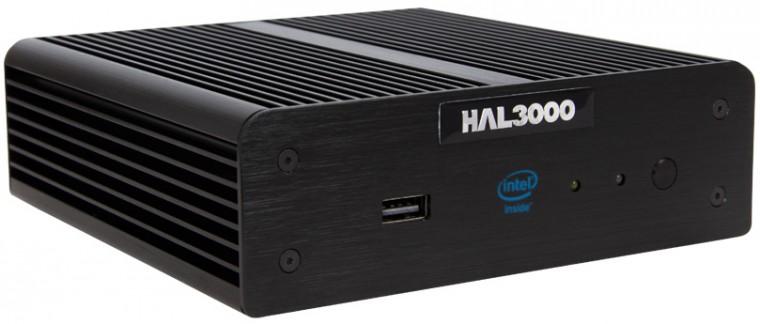 Kancelárske HAL3000 NUC Home/Intel Celeron 847/ 4GB/ 60GB SSD/W8.1 ROZBALENÉ