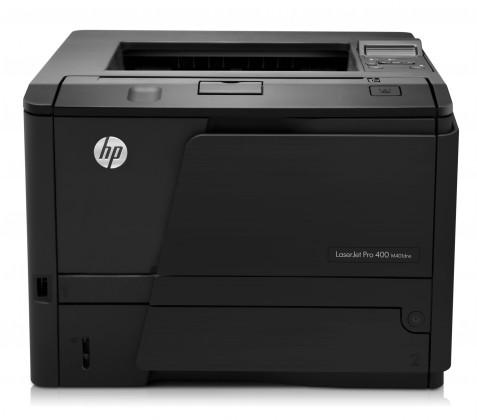 Kancelárske HP LaserJet Pro 400 M401dne  (33str/min, A4, USB, LAN, duplex)