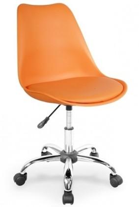 Kancelárske kreslo Coco (oranžová)