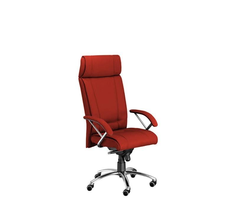 Kancelárske kreslo Demos Boss - Kancelárska stolička s opierkami (alcatraz 845)
