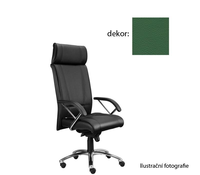 Kancelárske kreslo Demos Boss - Kancelárska stolička s opierkami (kože 161)