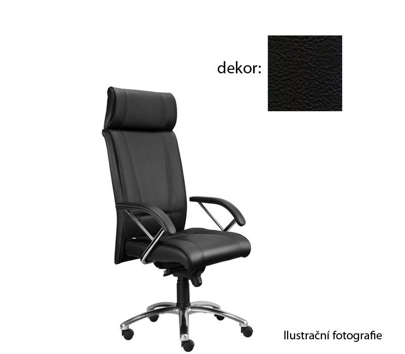 Kancelárske kreslo Demos Boss - Kancelárska stolička s opierkami (kože 176)