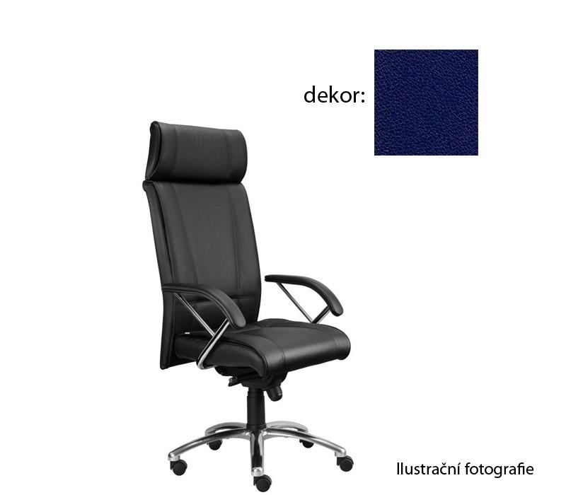 Kancelárske kreslo Demos Boss - Kancelárska stolička s opierkami (koženka 68)