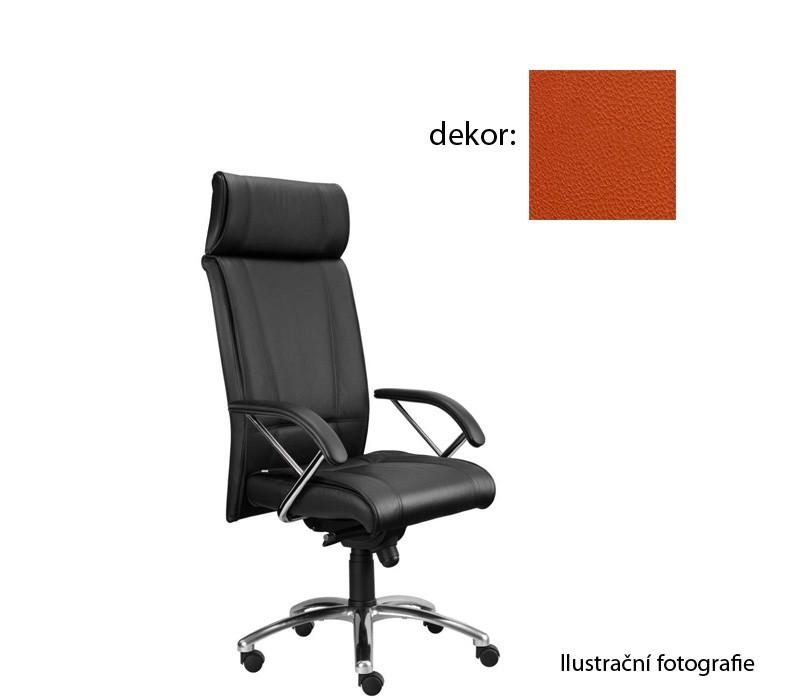 Kancelárske kreslo Demos Boss - Kancelárska stolička s opierkami (koženka 74)