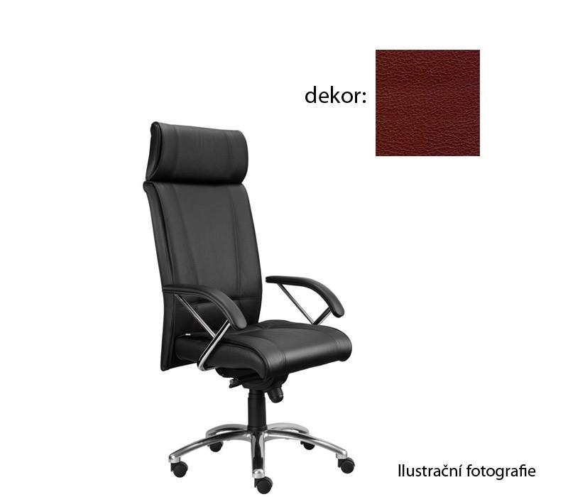 Kancelárske kreslo Demos Boss - Kancelárska stolička s opierkami (koženka 85)