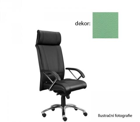 Kancelárske kreslo Demos Boss - Kancelárska stolička s opierkami (koženka 89)