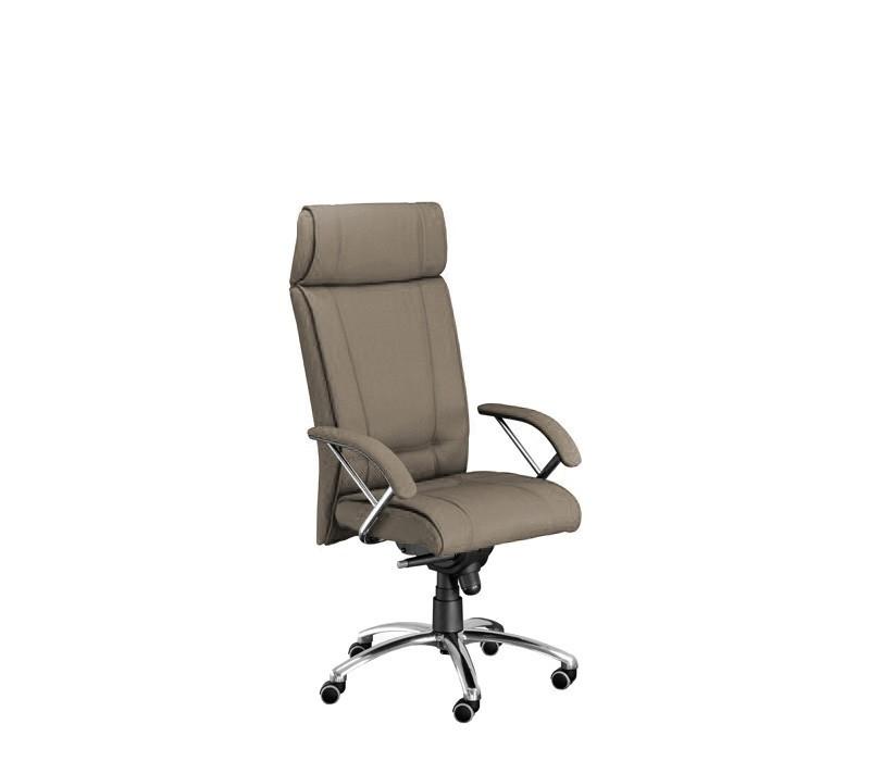 Kancelárske kreslo Demos Boss - Kancelárska stolička s opierkami (suedine 109)