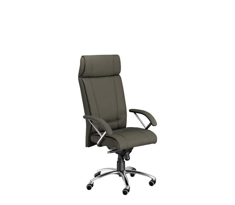 Kancelárske kreslo Demos Boss - Kancelárska stolička s opierkami (suedine 24)