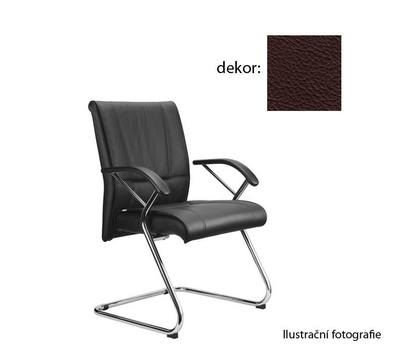 Kancelárske kreslo Demos Medios - Kancelárska stolička s opierkami (kože 177)