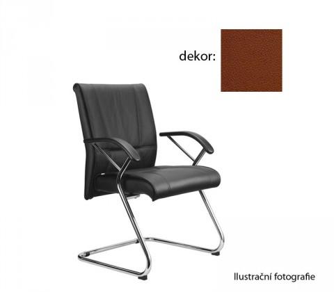 Kancelárske kreslo Demos Medios - Kancelárska stolička s opierkami (koženka 40)