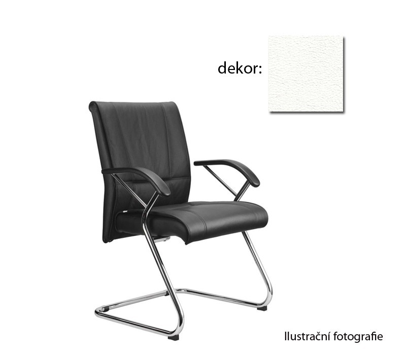 Kancelárske kreslo Demos Medios - Kancelárska stolička s opierkami (koženka 51)