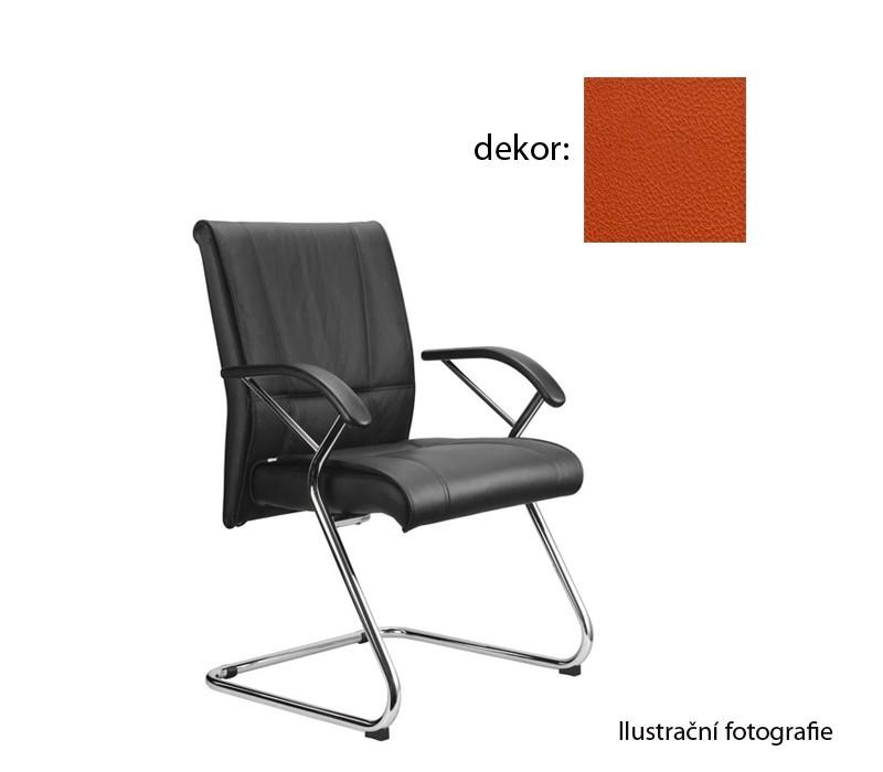 Kancelárske kreslo Demos Medios - Kancelárska stolička s opierkami (koženka 74)