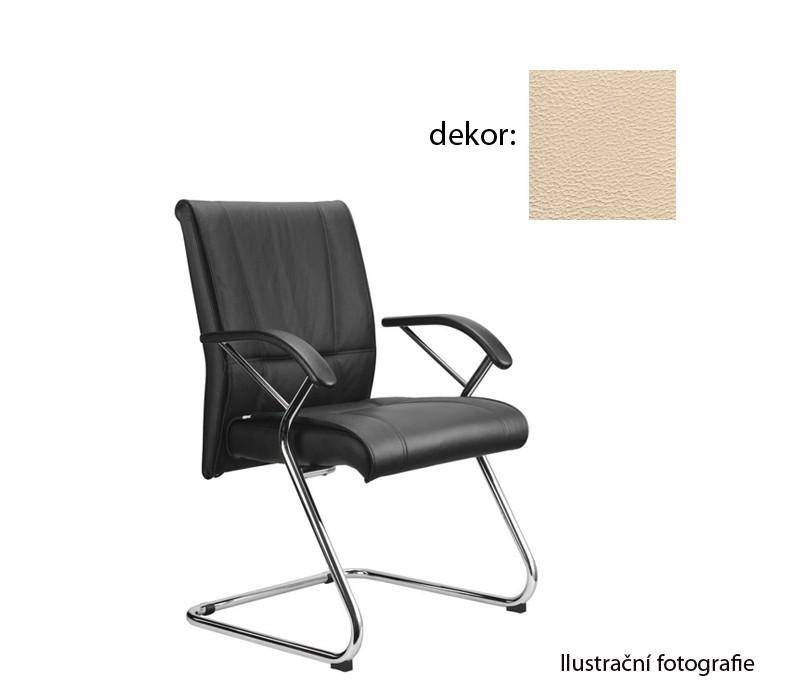 Kancelárske kreslo Demos Medios - Kancelárska stolička s opierkami (koženka 96)
