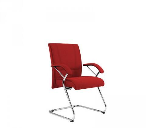 Kancelárske kreslo Demos Medios - Kancelárska stolička s opierkami (suedine 2)