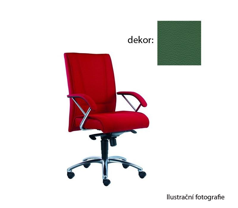 Kancelárske kreslo Demos Prof - Kancelárska stolička s opierkami (kože 161)
