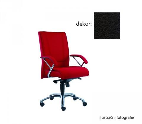 Kancelárske kreslo Demos Prof - Kancelárska stolička s opierkami (kože 176)