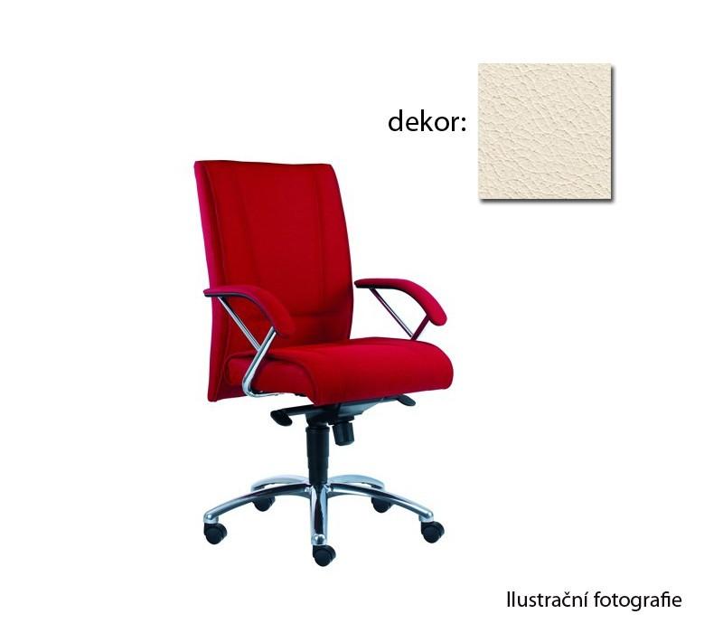 Kancelárske kreslo Demos Prof - Kancelárska stolička s opierkami (kože 300)