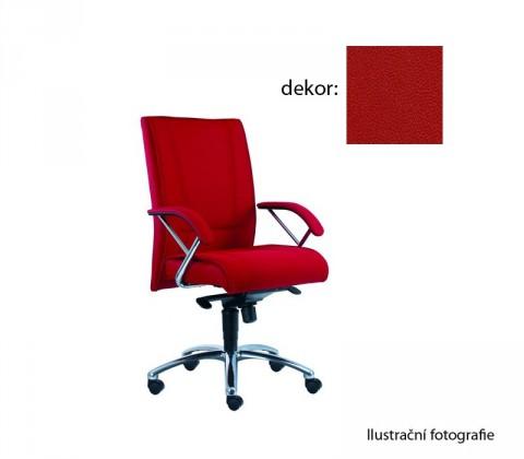 Kancelárske kreslo Demos Prof - Kancelárska stolička s opierkami (koženka 14)