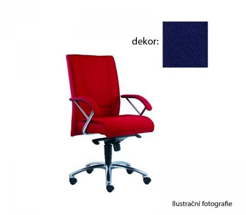 Kancelárske kreslo Demos Prof - Kancelárska stolička s opierkami (koženka 68)