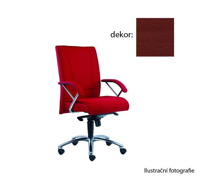 Kancelárske kreslo Demos Prof - Kancelárska stolička s opierkami (koženka 85)