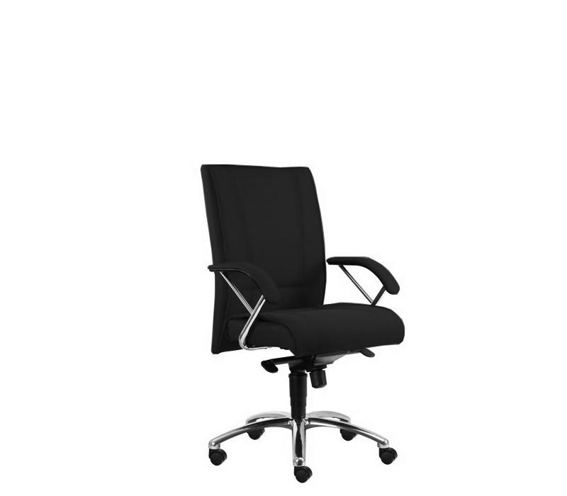 Kancelárske kreslo Demos Prof - Kancelárska stolička s opierkami (suedine 1)